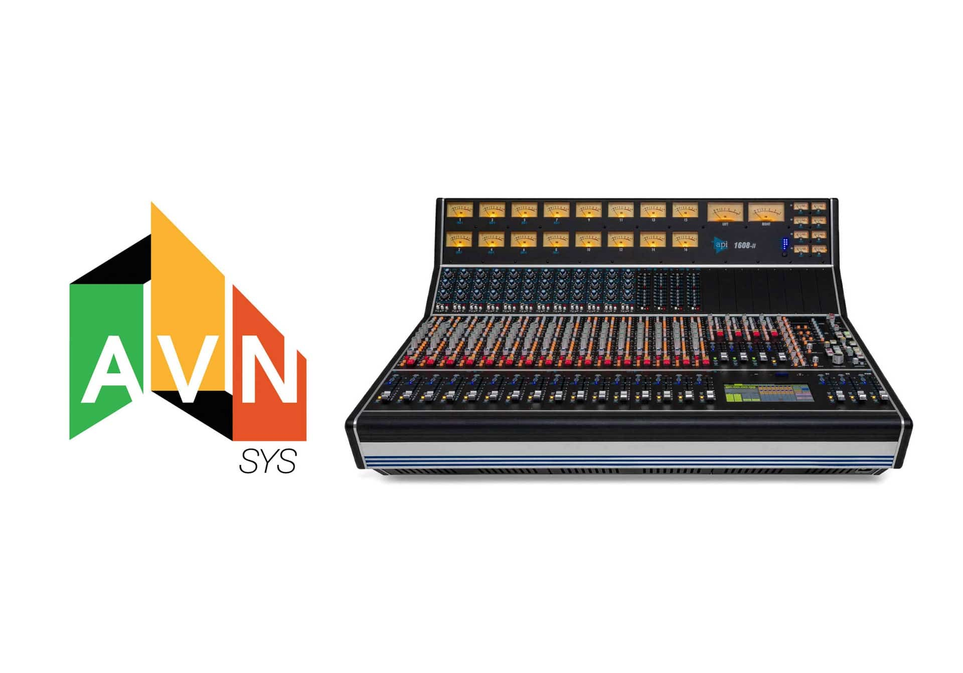 API 1608-II Console the Choice for Five Towns College